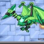 Dino Robot Ptera Green
