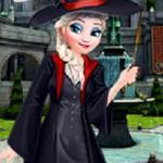 Elsa First Day In Hogwarts School