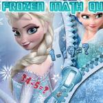 Frozen Math Quizt