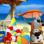 Frozen Olaf beach Resort