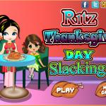 Ritz Thanksgiving Day Slacking